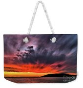 Clouds In Motion Before The Storm Weekender Tote Bag