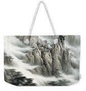 Clouds In The Mountain Weekender Tote Bag