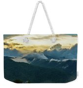 Clouds In The Smoky's Weekender Tote Bag
