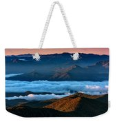 Clouds In The Valley Weekender Tote Bag