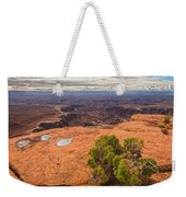 Clouds Junipers And Potholes Weekender Tote Bag