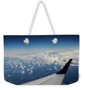 Clouds Under An Airplane Wing Weekender Tote Bag