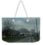 Clouds Move In On An Early April Morning Weekender Tote Bag