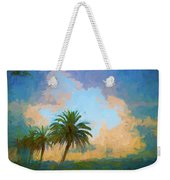 Clouds On The Loop Weekender Tote Bag
