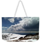 Clouds On The Mountain Weekender Tote Bag
