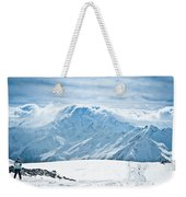 Clouds On The Top Of The Ridge Weekender Tote Bag
