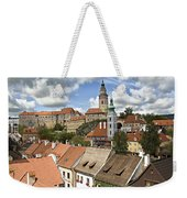 Clouds Over Cesky Krumlov Weekender Tote Bag