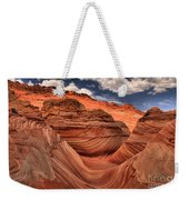 Clouds Over Coyote Buttes North Weekender Tote Bag