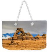 Clouds Over Delicate Arch Weekender Tote Bag