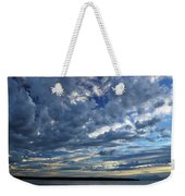 Clouds Over English Bay From Sunset Beach Vancouver Weekender Tote Bag
