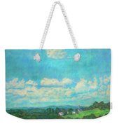 Clouds Over Fairlawn Weekender Tote Bag