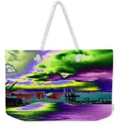 Clouds Over Harbor Island Weekender Tote Bag