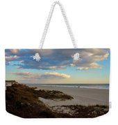 Clouds Over Holden Beach Weekender Tote Bag