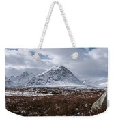 Clouds Over Mountains, Glencoe, Scotland Weekender Tote Bag