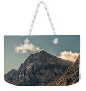 Clouds Over Red Rock Canyon Weekender Tote Bag
