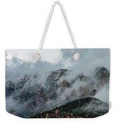 Clouds Over Sandia Weekender Tote Bag