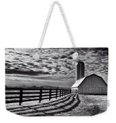 Clouds Over The Farm Weekender Tote Bag