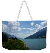 Clouds Over The Lake Weekender Tote Bag