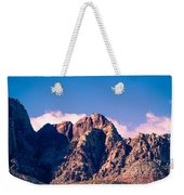 Clouds Over The Mountain Weekender Tote Bag