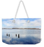 Clouds Over The Mullica River Weekender Tote Bag