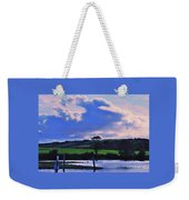 Clouds Over The Shannon, Ireland Weekender Tote Bag