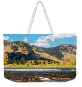 Clouds Over The Teton Foothills Weekender Tote Bag