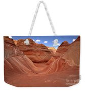 Clouds Over The Wave Weekender Tote Bag