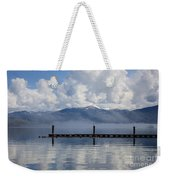 Clouds Reflecting Off Priest Lake Weekender Tote Bag