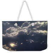 Cloudscape And River Weekender Tote Bag