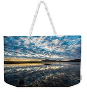 Cloudscape - Reflection Of Sky In Wichita Mountains Oklahoma Weekender Tote Bag