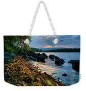 Cloudy Autumn Sunset Weekender Tote Bag