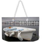 Cloudy Coronado Island Boat Weekender Tote Bag
