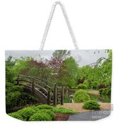 Cloudy Day Garden Stroll Weekender Tote Bag