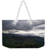 Cloudy Environment  Weekender Tote Bag