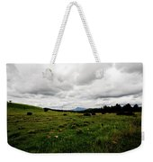 Cloudy Meadow Weekender Tote Bag