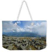 Cloudy Mount Washington Road Weekender Tote Bag