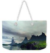 Cloudy Ocean Scene Weekender Tote Bag