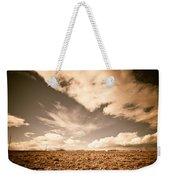 Cloudy Plain Weekender Tote Bag