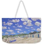 Clouds Above The Sunny Beach Weekender Tote Bag