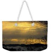 Cloudy Sunrise 3 Weekender Tote Bag