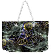 Cloudy With Fractals Weekender Tote Bag