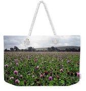 Clover Field Wiltshire England Weekender Tote Bag