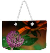 Clover In My Yard Weekender Tote Bag