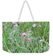 Clover In The Grass Weekender Tote Bag