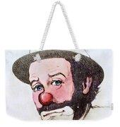 Clown Emmett Kelly Weekender Tote Bag