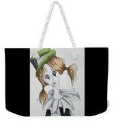 Green Hat Clown Weekender Tote Bag