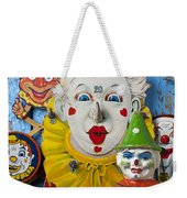 Clown Toys Weekender Tote Bag by Garry Gay