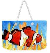 Clownfish Marine Sealife Art Print Weekender Tote Bag