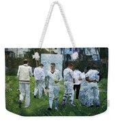 Club Cricket Tea Break Weekender Tote Bag
