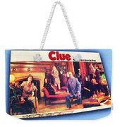 Clue Board Game Painting Weekender Tote Bag